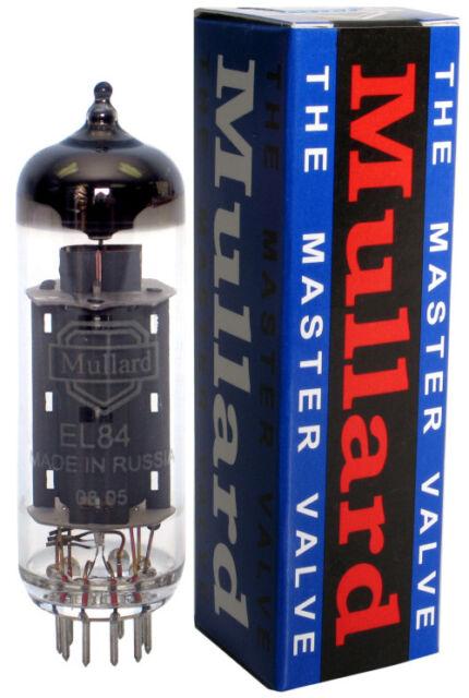Reissue Mullard EL84 -6BQ5 Vacuum Tube Tested - Valve Vacuum New And Tested
