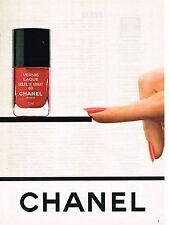 PUBLICITE ADVERTISING 064  1981  CHANEL   cosmétiques  SOLEIL DE MINUIT