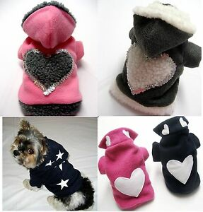 Hundekleidung-XXS-XL-Hundebekleidung-Hundemantel-Hundejacke-Hundepullover