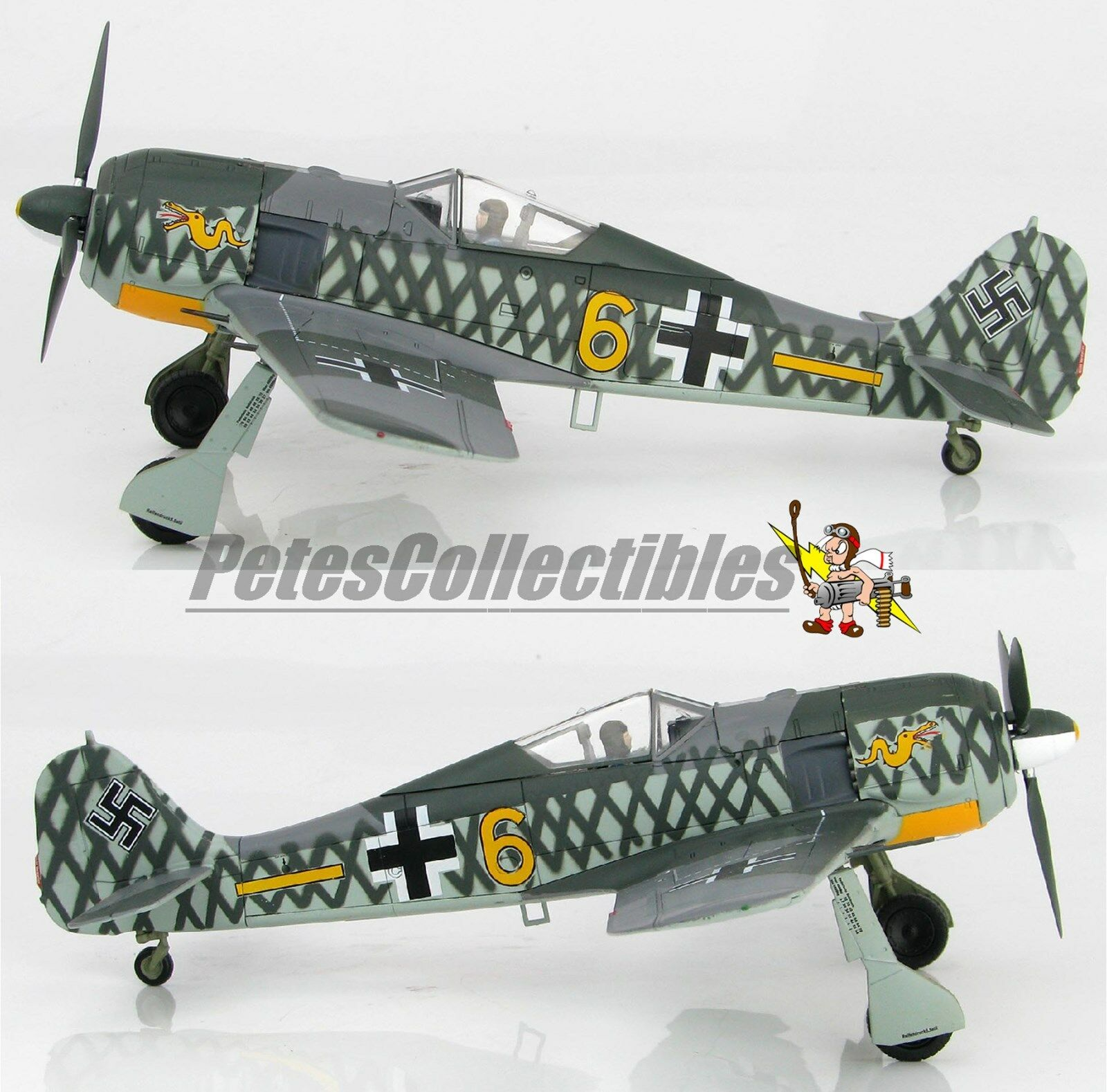 Hobby Master HA7423 FW 190A-4 6. JG 1, bataille, Holland, octobre 1942 1 48th