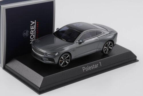 Polestar 1 Volvo Hybrid osmium grey diecast 1:43 Norev