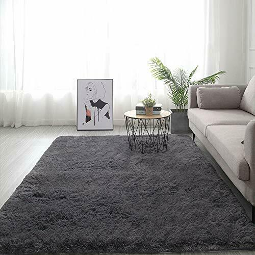 Soft Fluffy Area Rugs for Bedroom Dining Room,4/' x 5/'Anti-Skid Shaggy Floor Carp