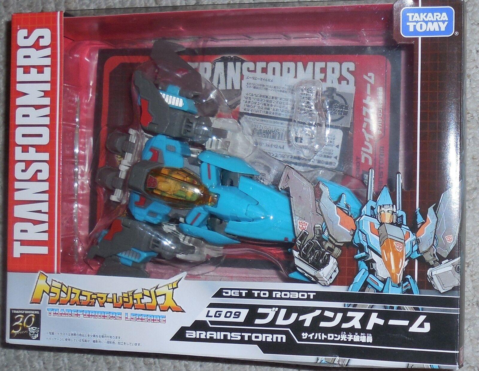 ventas en linea Takara Transformers Leyenda Titanes Retorno LG-09 Brainstorm Completo Completo Completo con Caja  compra en línea hoy