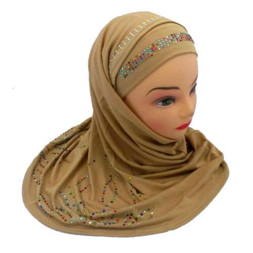 Port Du Foulard Islam Chapeau Jadeed enfanter Hijab Chiffon Khimar niqab Abaya serment