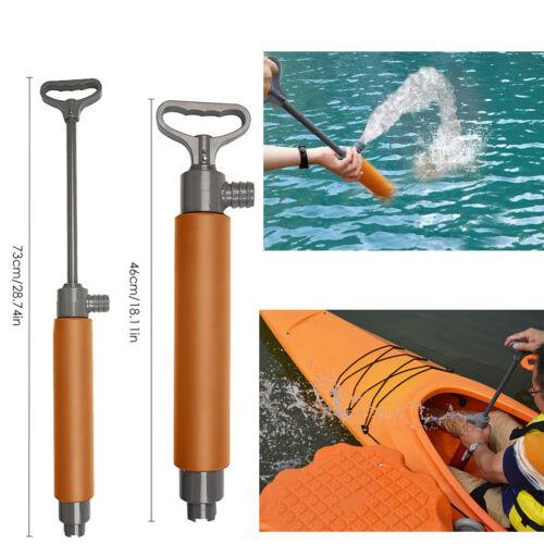Kunststoff Manuelle Hand Bilge Pumpe Bilgepumpe Kajak Boot Zum schnellen
