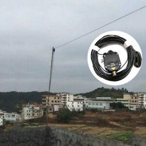 4B100W Withstand 7-14-21-28MHz End-Fed HF Ham/Amateur Radio Shortwave Antenna