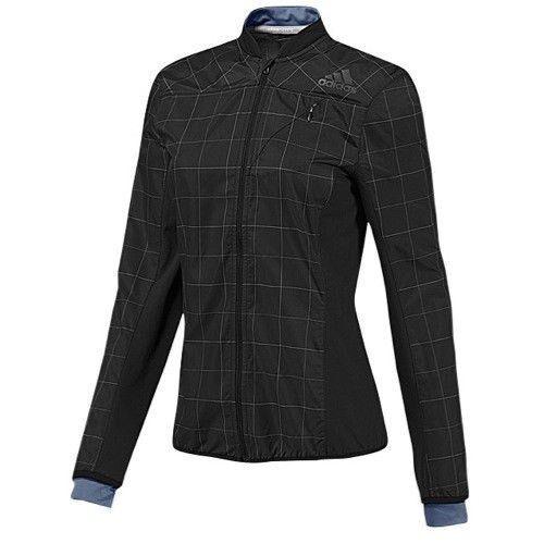 Veste de sport adidas Femme Climaproof Supernova Reflective Running Noir Grand