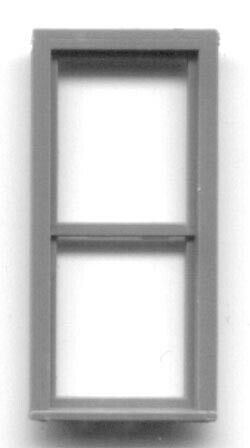 "X .875 8 W H Grandt Line HO 300-5273 2-Pane Window--.40/"" LOT of 2pkgs"