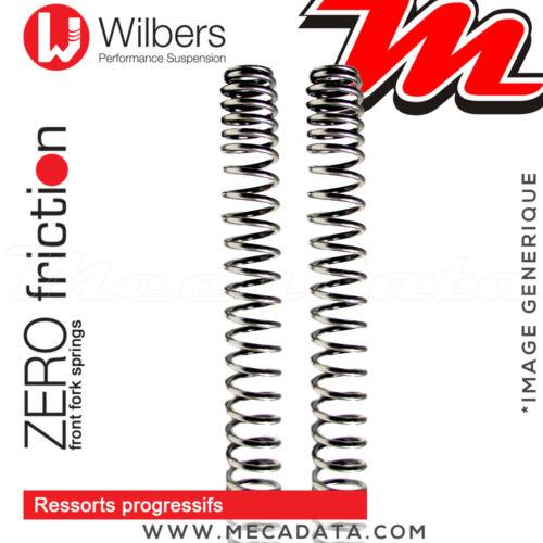 Ressorts Fourche Wilbers SUZUKI GSF 650 Bandit 2005 Progressifs Zero Friction