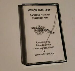 Driving-Tape-Tour-Saratoga-National-Historical-Park-Cassette-Tape-Vintage-1996