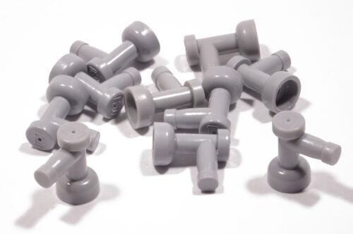 Lego 10 x robinet gris clair//tuyau//COQ//TAP//4599b article neuf