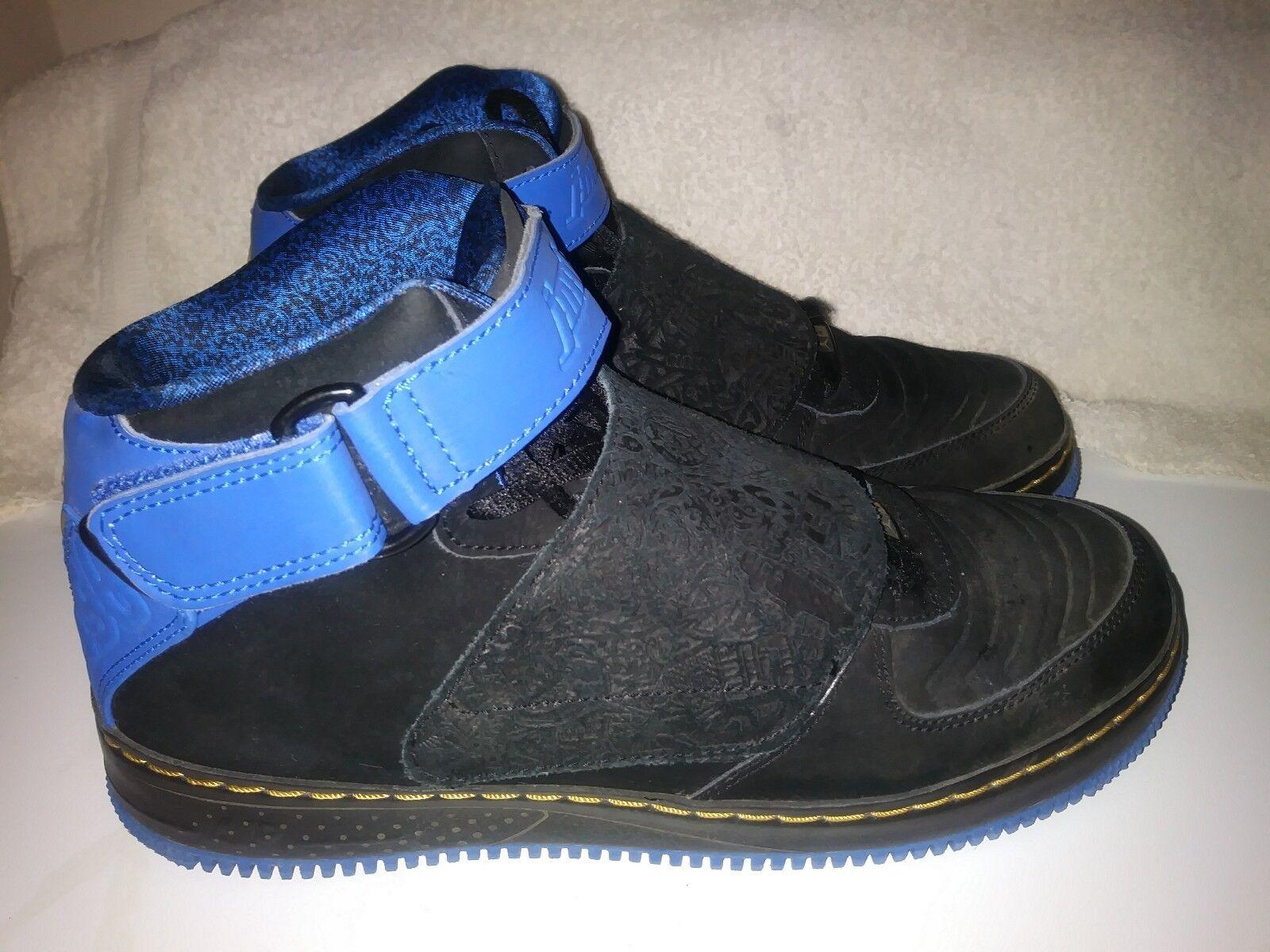 Nike Air Jordan AJF negro 20 azul noche y negro AJF comodo 0b0d98