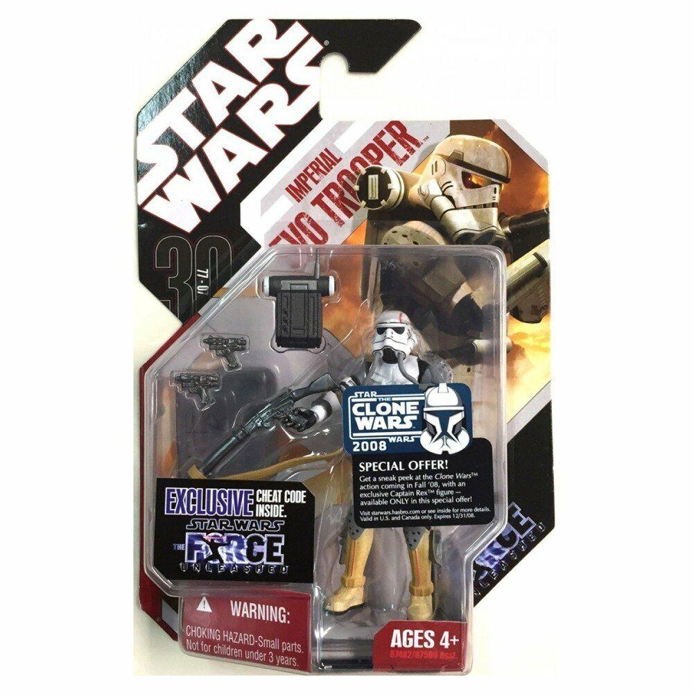 mejor moda Estrella Wars 30th aniversario Saga Saga Saga Legends Force Unleashed Imperial Evo Trooper  gran descuento