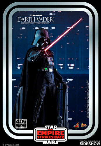 Hot Toys Star Wars ESB 40th Anniversary MMS572 Darth Vader 1//6 Scale Figure