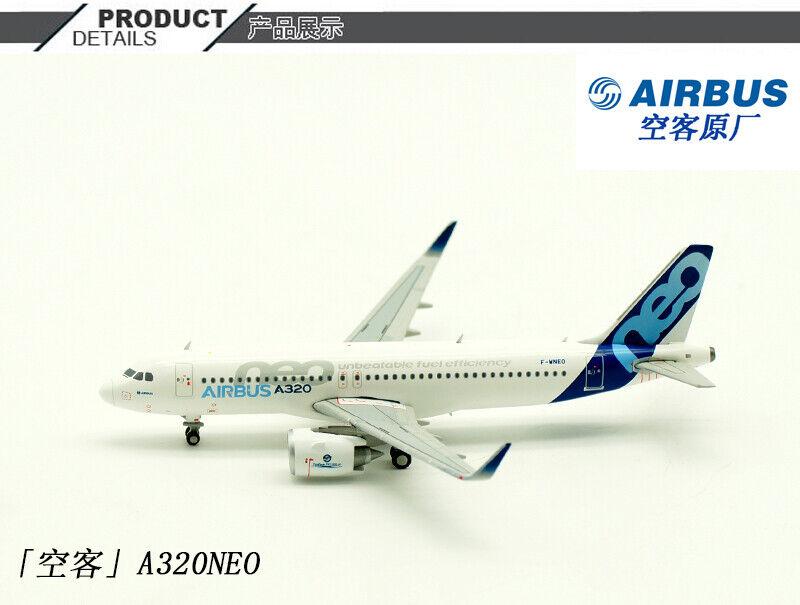 1 400 JC Wings Airbus A320NEO pasajero avión avión aeronave modelo Diecast