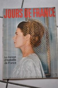 jours-de-france-n-514-le-mariage-d-039-isabelle-de-france-1964
