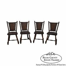 Old Hickory Antique Set of 4 Rustic Dining Chairs
