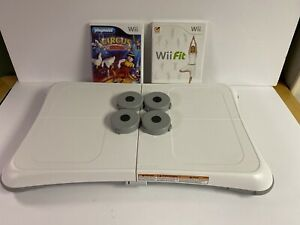 Nintendo-Wii-Fit-Balance-Board-Bundle-with-Wii-Fit-Circus-TESTED-WORKS