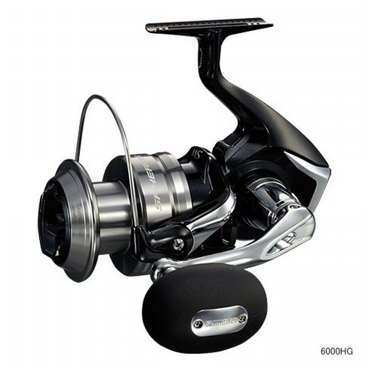 Shimano Spheros solo Weave 5000-HG Spinning Carretes