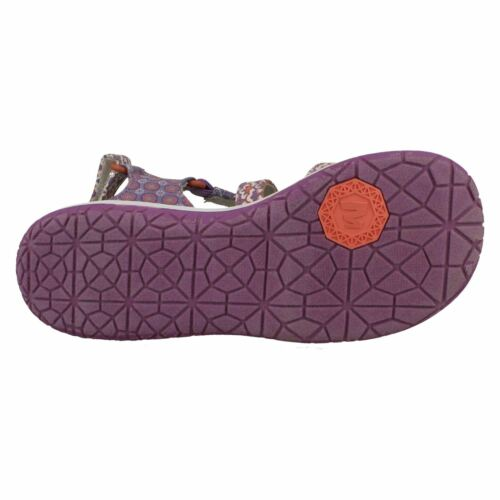 GIRLS MERRELL CANVAS SUMMER CASUAL WALKING STRAPPY SANDALS JAZMIN DITTO SIZE
