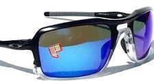 Oakley Triggerman Sunglasses 2015 Oo9266-04 Matte Black Sapphire Iridium Polarized