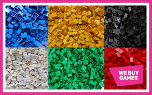 LEGO-Brique-Bundle-25-pieces-Taille-2x2-Choisir-Votre-Couleur
