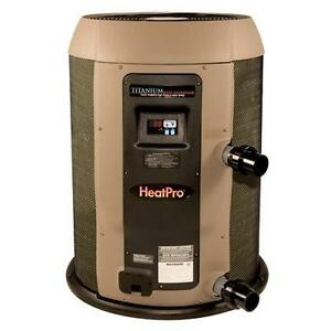Hayward heatpro hp21104 swimming pool electric heat pump hp21104t 110k btu ebay for Electric swimming pool heaters