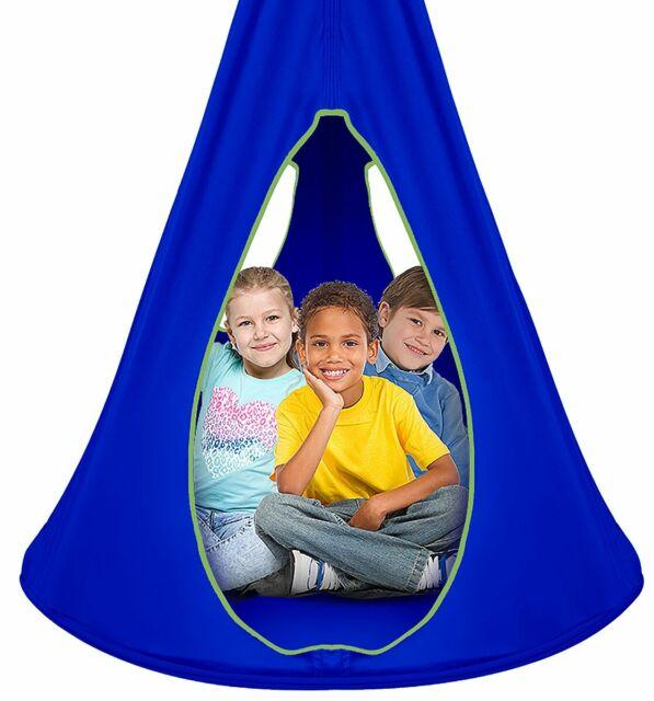 Kids Nest Swing Chair Nook Hanging Seat Hammock For Indoor Outdoor Use For Sale Online Ebay