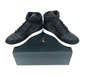 21cb2eb6a53b Nike Air Jordan 1 High Strap Shoes Mens Size 11 Black 342132 004 ...