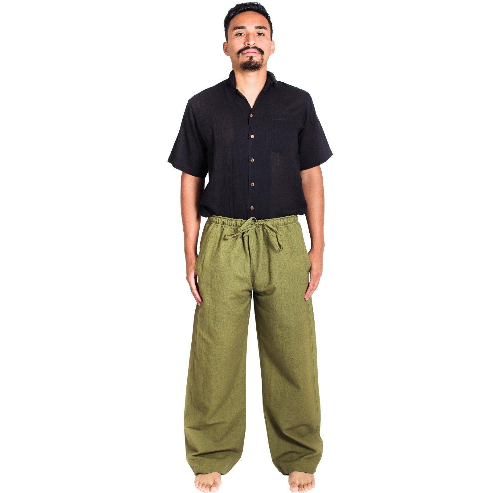 Men's Classic Hemp-Cotton Blend Lounge Pants-21101