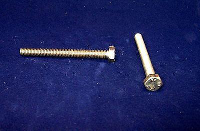 10 Edelstahl Schrauben DIN 933 Sechskant M10 x 20 mm A4 Seewasserfest
