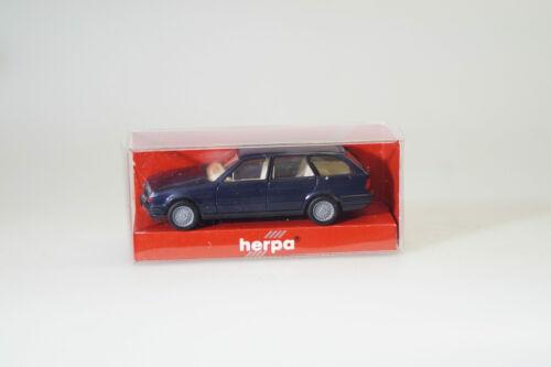 NEUF HERPA 030960 BMW 525i TOURING BLEU-met.