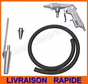 Pistolet de sablage pneumatique Silverline kit complet - GARANTIE DE 3 ANS