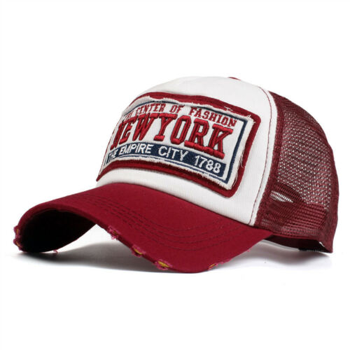 Baseball Cap basecap mütze baseballcap kappe unisex vintage Mesh Trucker Camo