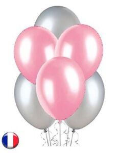 LOT 20//50//100 Ballons Nacrés ROSE PALE  Haute Qualité 3,2 grs en Latex 30 cm