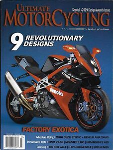 Image Is Loading Ultimate Motorcycling Magazine Revolutionary Designs Factory Exotica Riding