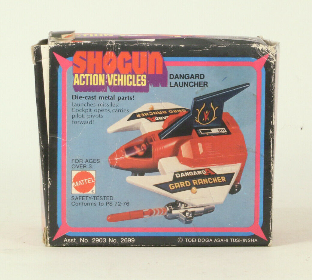 Shogun Action Vehicles Dangard Launcher  With Original Box