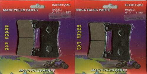 2 sets Honda Disc Brake Pads CBR954RR 2002-2003 Front