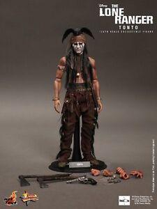 Hot Toys The Lone Ranger Tonto 1: 6 Figure Johnny Depp Misb Nouveau Moins Cher Mms217