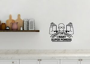 Details about Forget Lab Safety Super Powers Inspired Design Home Wall Art  Decal Vinyl Sticker