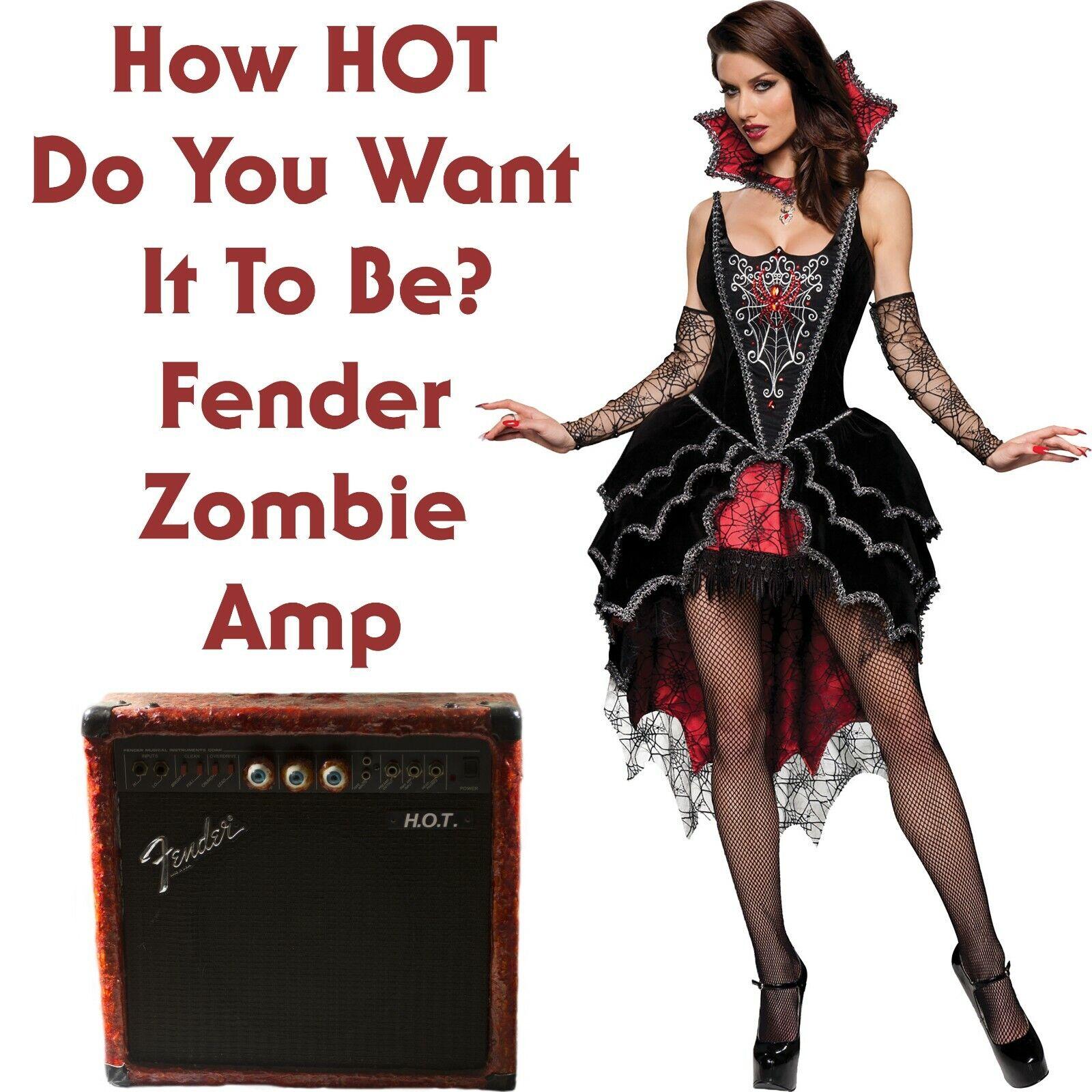 Fender Zombie Guitar Amplifier Halloween Prop