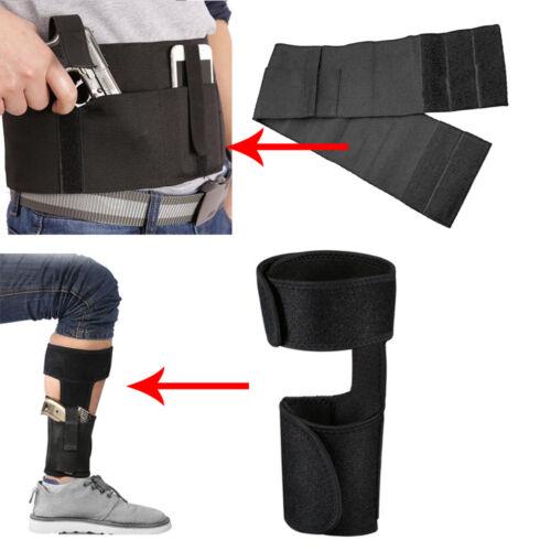 Concealed Carry Ankle Gun Holster Leg Holster// Waist Belly Band Gun Holster US