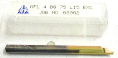 1x ISCAR VHM-Gewindefräser  M12 mit Innenkühlung Neu
