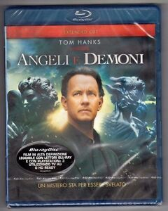 Film ANGELI E DEMONI Tom Hanks Blu Ray nuovo sigillato