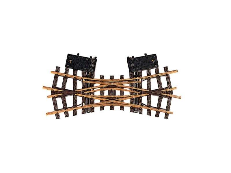 LGB 12260 ELETTR. doppia croce morbida r1 22.5 ° Traccia G