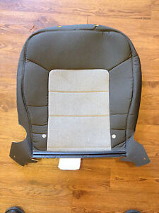 03 06 ford expedition factory original 2nd row 40 cloth seat back cover gray ebay. Black Bedroom Furniture Sets. Home Design Ideas