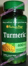 Turmeric 400mg 100 CAPSULES Antioxidant Anti-Inflammatory
