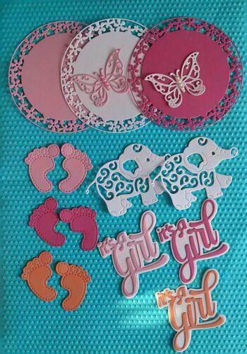 Baby Set Stanzteile Kartenaufleger Scrapbooking Cuts Cards Piecing Handcrafted