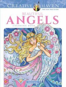 Creative-Haven-Beautiful-Angels-Coloring-Book-by-Marjorie-Sarnat-9780486818573