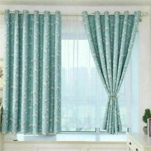 vorh nge verdunklung gardinen mit sen blickdicht dekogardinen schlafzimmer ebay